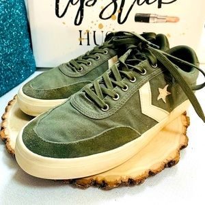 CONVERSE Sneakers Army Green M/10 - W/11.5
